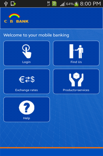 CB Bank Mobile Banking Services